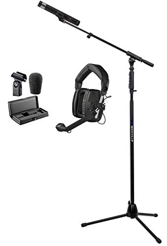 Audio Technica AT4051B Broadcast Microphone+Beyerdynamic DT 109 Headset+Stand ()