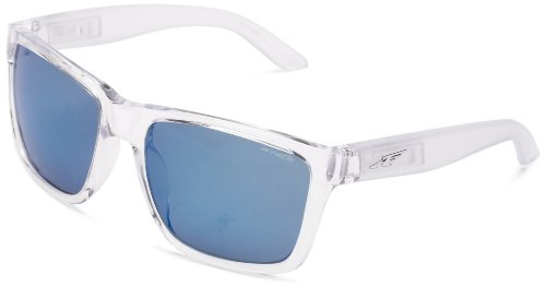 an4177 Doctor Blanc gloss Sonnenbrille blueemirror Clear Arnette Witch qTft8w