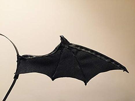 Medium Bat Wing Black Devil Cosplay Vampire Morrigan Costume Leather