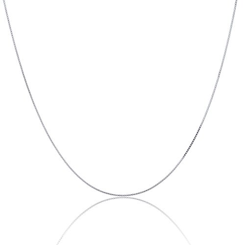 Sterling Silver Italian Necklace Lightweight