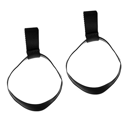 MagiDeal 2 Pieces Durable Elastic Rubber Scuba Diving Snorkeling Stage Tank Cylinder Bottle Hose Retainer Band Small/Large - S ()