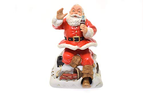 (Melody In Motion 1993 Limited Edition Coca-Cola Santa Claus Animation & Musical Figure #07161)