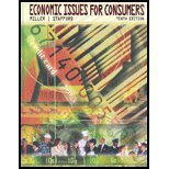 Economic Issues for Consumers (with InfoTrac ), Miller and Miller, Roger LeRoy, 0495600067