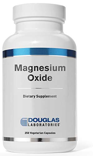 Douglas Laboratories - Magnesium Oxide - Supports Normal Heart Function and Bone Formation* - 250 Capsules