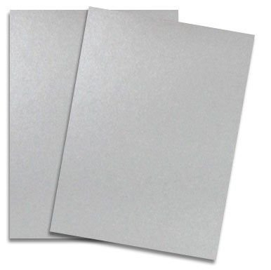 Shimmer Silver 8-1/2-x-11 Lightweight Multi-use Paper 1000-pk - 118 GSM (32/80lb Text) PaperPapers Letter Size Everyday Paper - Professionals, Designers, Crafters and DIY Projects by Paper Papers