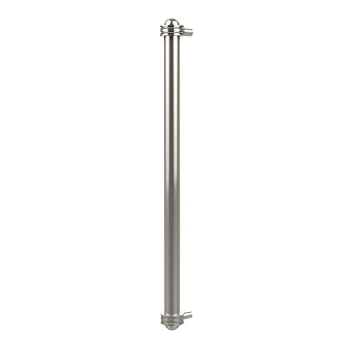 Allied Brass 402AD-RP-PNI 18 Inch Refrigerator Pull with Dotted Accents Polished Nickel ()
