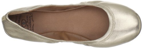 Lucky Mujeres Emmie Ballet Flat Champagne