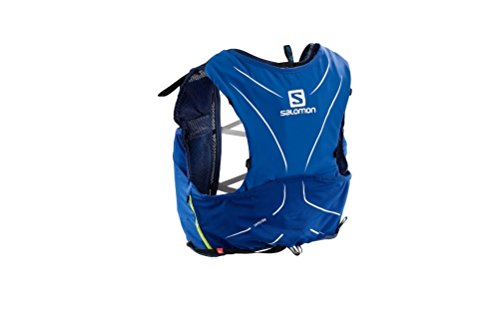 Salomon ADV SKIN 5 SET Sports Water Bottles, Surf the Web/Dress Blue, X-Large by Salomon