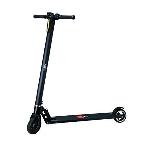 """i-Bike Alum Trottinette électrique, noir, 5"""""""