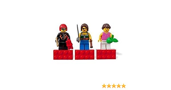 LEGO Girls 3 Female Minifigs Set DynaMite Pirate /& Pink Lady NEW