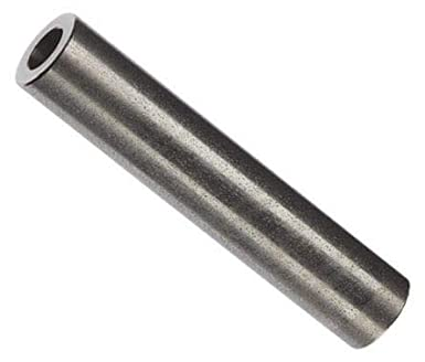 0.166 ID Round Spacer 3//8 Length Pack of 10 Aluminum #8 Screw Size Plain Finish 3//8 OD