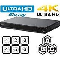 Sony X800 - UHD - 2D/3D - SACD - Wi-Fi - Dual HDMI - 2K/4K - Region Free Blu Ray Disc DVD…