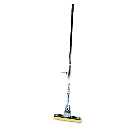 Rubbermaid Commercial Cellulose Sponge Mop with Steel Handle (FG643500BRNZ)
