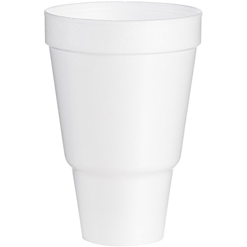 (Dart 32AJ32 32 oz Pedestal Foam Cup (Case of 500))