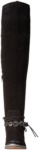 Muse & Nuage Femmes Ansley Slouch Boot Noir