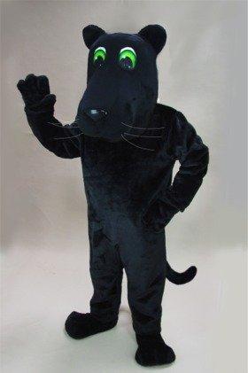 Cartoon Panther Mascot -