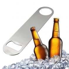 Large Flat Stainless Steel Beer Bottle Cap Bar Blade Opener Tool