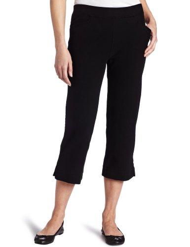 Mod-O-Doc Women's Stretch Knit Twill Capri Pant
