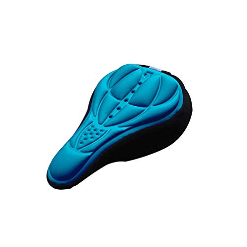 (Bicycle Seat Soft Foam Bike Saddle Comfortable MTB Saddle Shock Absorbing Saddle Cycling Accessory Durable and Practical )