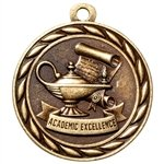 Express Medals Academic Excellence Medals (3-Pack)