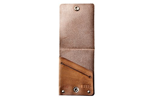 Leather With Mr Lentz Mr Snap Brown Wallet Men's Lentz Western wOwH6Iq