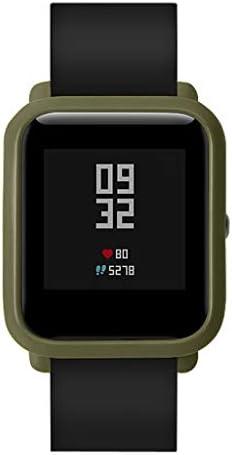 Starnearby Funda Protectora para Huami Amazfit Bip S Funda Protectora Suave Funda de Repuesto antiara/ñazos Funda Protectora a Prueba de Golpes para Amazfit Bip S Smartwatch Negro