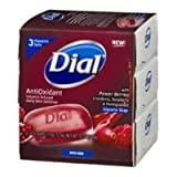 power berries dial - Dial Glycerin Soap Bars with Power Berries, 4 oz bars, 3 ea (Pack of 2)