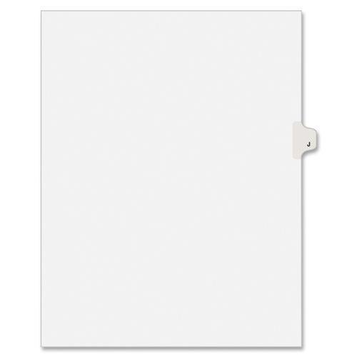 LGJLTS Avery Individually Lettered Tabs Legal Dividers - 25 x Divider(s) - Printed
