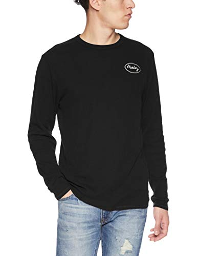 301016b6 Amazon.com: Hurley Men's Solid Embroidered Long Sleeve Thermal Shirt:  Clothing