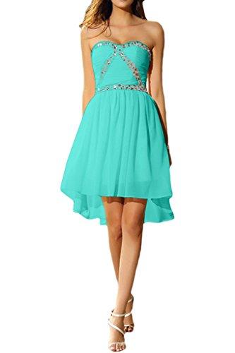 Damen Chiffon Brautjungfernkleis Abendkleid Liebeling Ivydressing Jaegergruen Herzform Kurz Promkleid Cocktailkleid Steine 7xqw6Hd