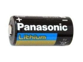 Panasonic CR123A Lithium battery 3V Photo Lithium Battery, 0.67