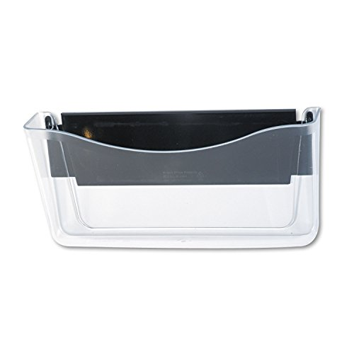 Rubbermaid Clear Hanging - Rubbermaid 65986 Unbreakable Magnetic Wall File A4/Letter Clear