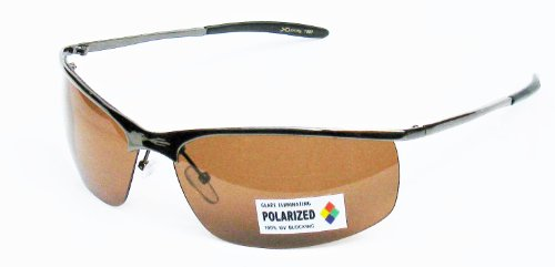X Loop Polarized Driving Sunglasses XP3 Gunmetal - Metal X Sunglasses