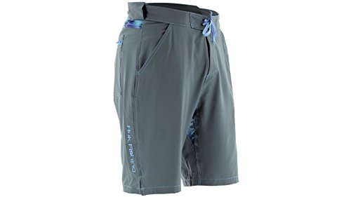 Huk Men's Next Level Board Short, Charcoal, Large by Huk
