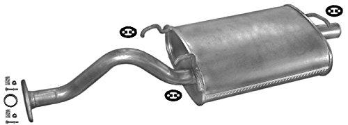 ETS-EXHAUST 50768 Silenziatore marmitta Posteriore + kit di montaggio (pour CIVIC 1.4 1.5 HATCHBACK 75/90/115hp 1995-2001) ETS-SCARICO