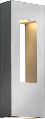 Atlantis Titanium Outdoor Wall Light - 3