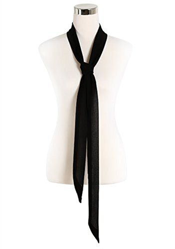 DixperfectSkinny-Chic-Choker-Silky-Soft-Scarf-Necktie-for-Women
