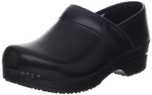 Sanita Women's Professional Aubrey Closed Back Clog Black