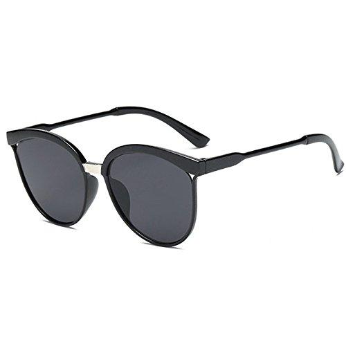 Aoligei Film couleur mode européens et américains des lunettes tendance de mode lunettes de soleil réfléchissantes Dame couleur lumineuse A5BuUc2t44