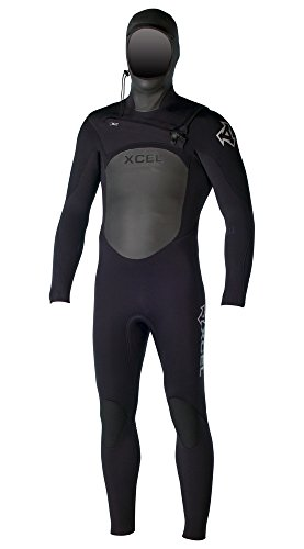 xcel-infiniti-x2-hooded-mens-wetsuit-5-4-x-large-watertight-front-entry-system-and-new-tdc-thermo-dr