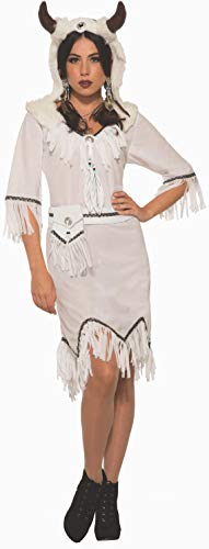 Forum 80356-As-Standard Women's White Buffalo Spirit Adult Costume, Standard, Pack of 1