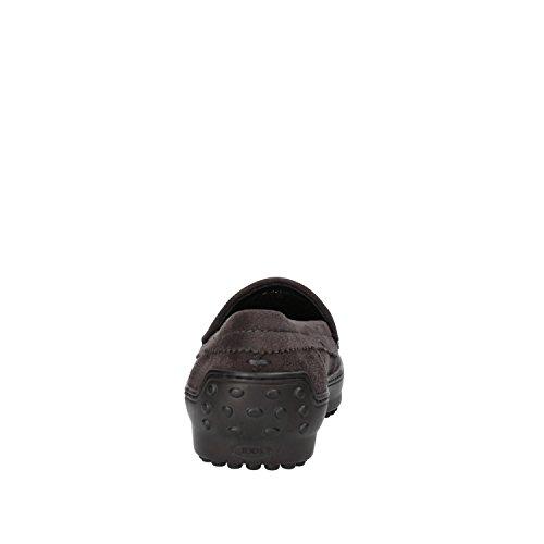 TOD'S mocassini donna grigio camoscio AF162
