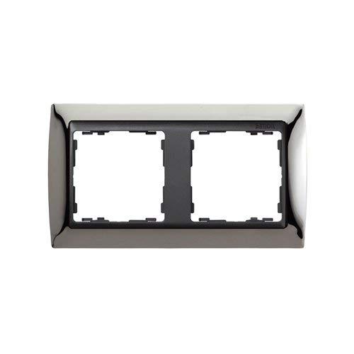Simon - 82824-67 marco 2elem s82 grafito metal noble acero osc Ref. 6558267160 M133562