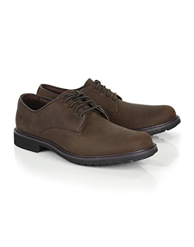 - Timberland Men's Burnished Dark Brown Oil Earthkeepers Stormbuck Oxford 8.5 D(M) US