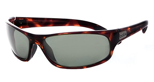 Bolle Anaconda Sunglasses, Dark Tortoise, Polarized Axis oleo AF by Bolle