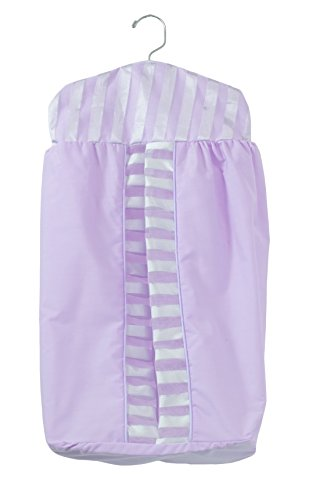 Baby Doll Candyland Crib Diaper Stacker, Lavender