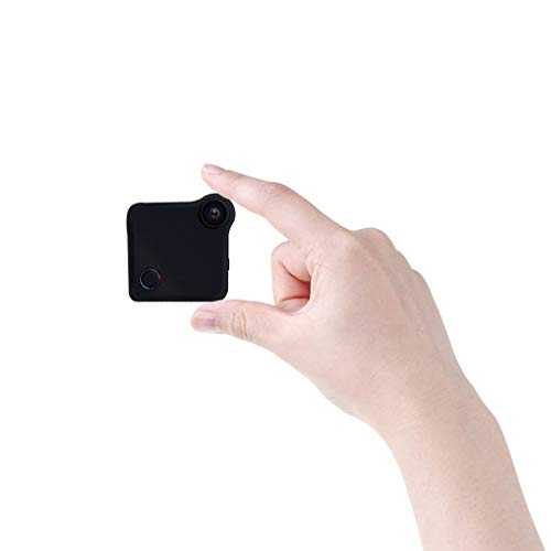 C-Xka Cámara espía 720P HD Cámara de vigilancia inalámbrica de Seguridad para el hogar Minicámaras, videocámara...