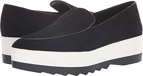 Donna Karan Women's Karan - Platform Slip-On Black 7 M US