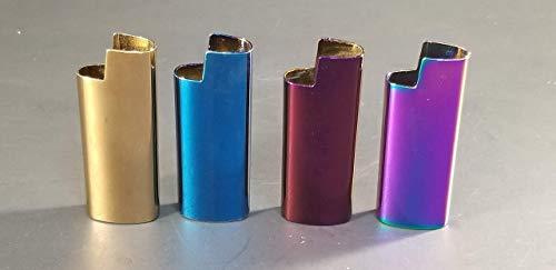 Custom MINI Lighter Cover Metal Blank w/ 2 tone or high ()