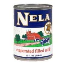 Goya Nela Evaporated Filled Milk, 12 Ounce -- 24 per case.